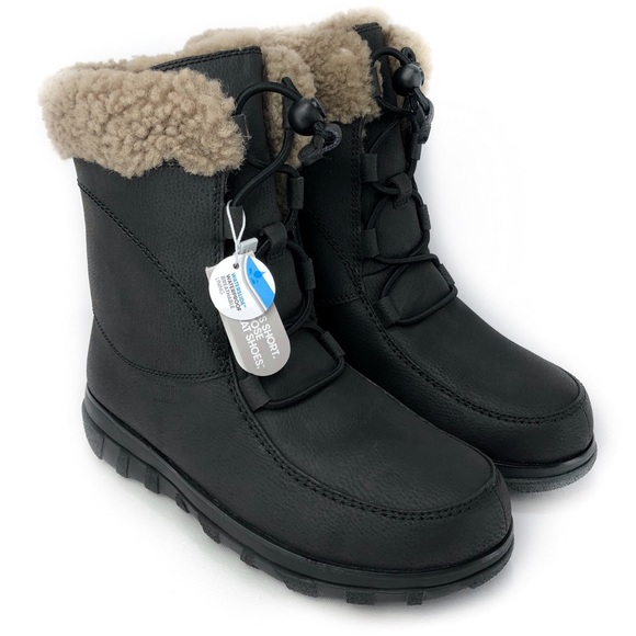 Fitflop Loaff Waterproof Lace Up Boots